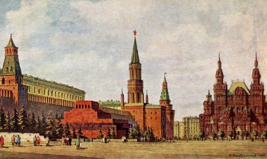 Московские открытки