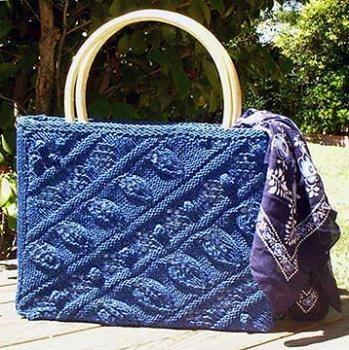 вязание сумок спицами с описанием - Сумки.